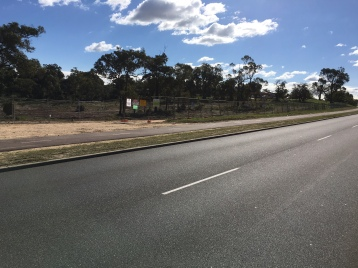 Two North Lake Road Concrete barriers gone